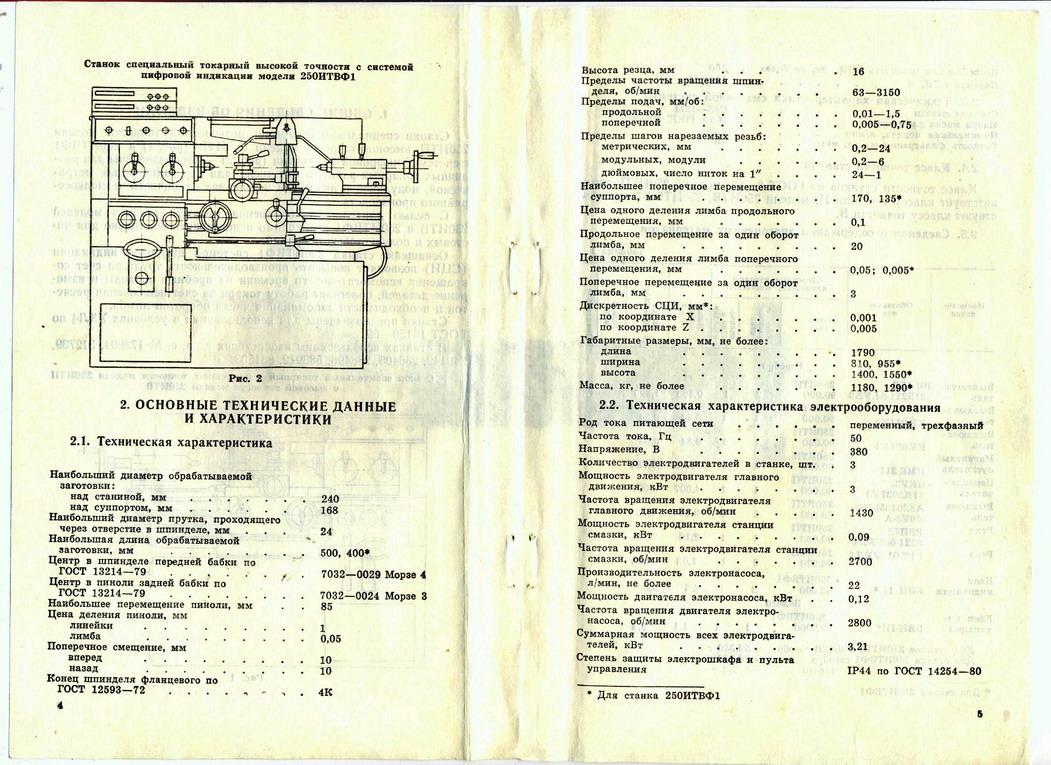 Инструкция по эксплуатации станка