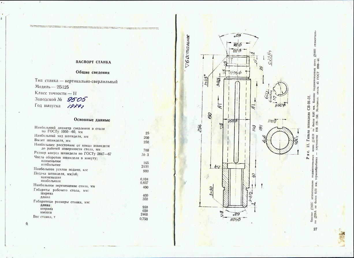 Инструкция по эксплуатации станок сверлильный