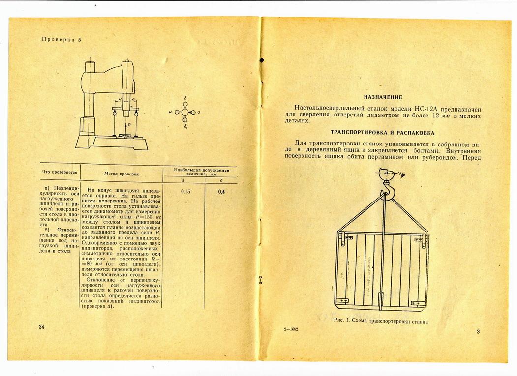 Сверлильный станок инструкция по эксплуатации